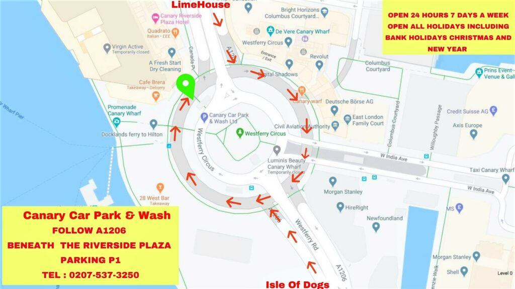 Canary-Car-Park-Wash-LTD-Follow-A1206-it-is-directly-under-ground-of-the-Riverside-Plaza